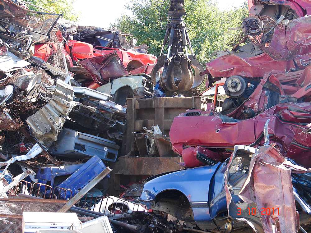 Likvidace autovraků aut vozidel vozů